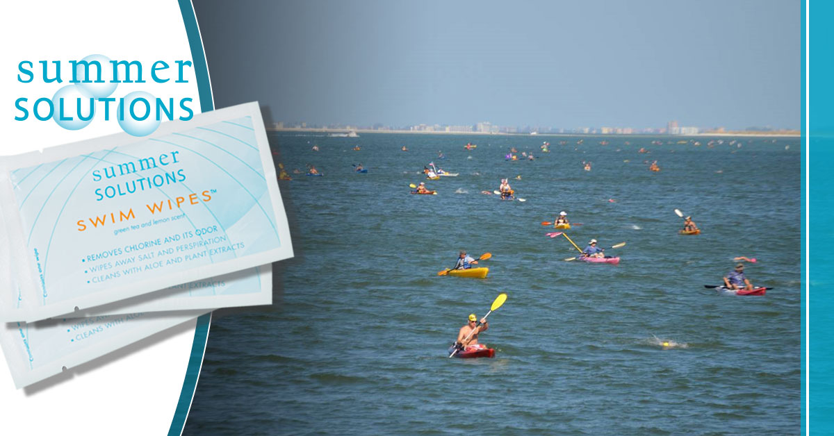 "Summer Solutions Sponsors Swim Without Limits' ""Swim Fort De Soto"""