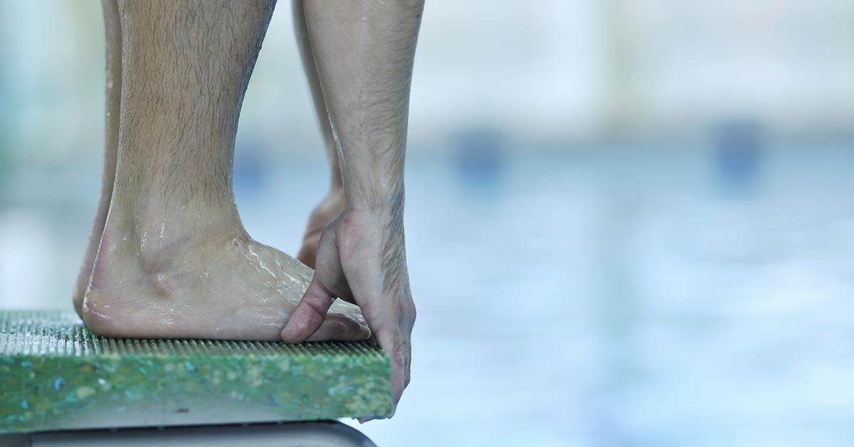 Foot Care for Swimmers: About Athlete's Foot