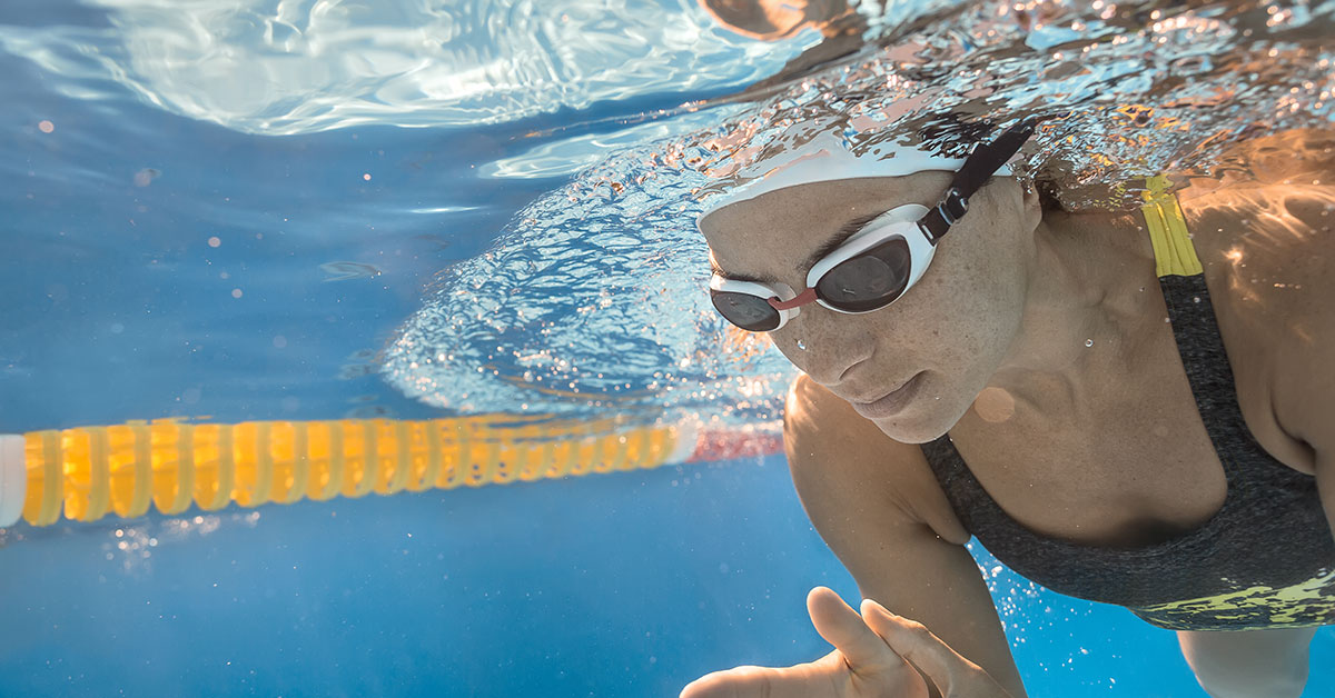 Don't Hold Your Breath While Swimming!